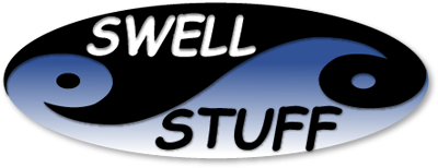 Logo Swell Stuff Wetsuit Repair and Retail – Lisa Hetman Designs